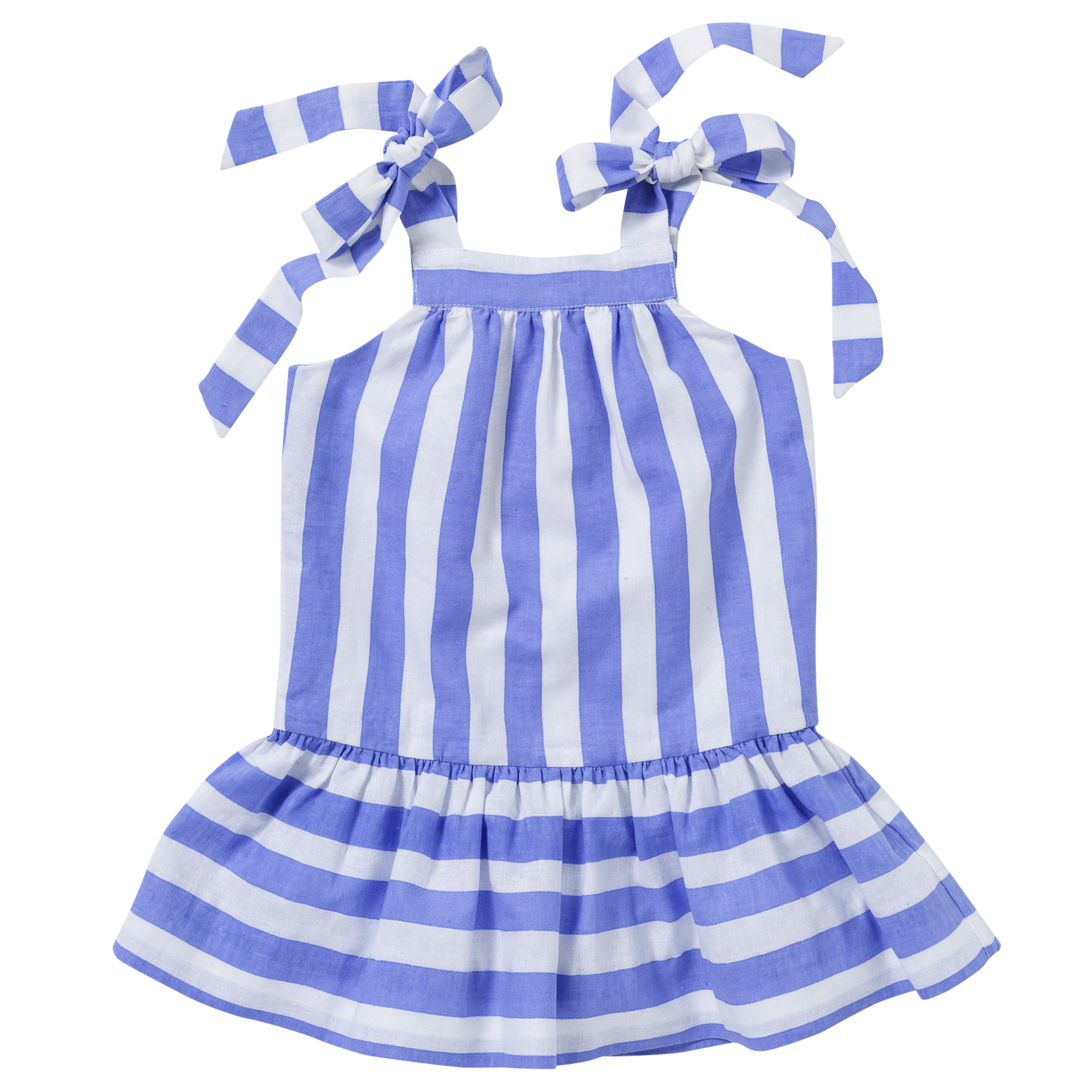 The Audrey Dress in Stripe
