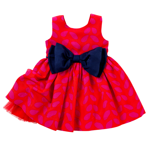 The Bow Dress in Sprinkles