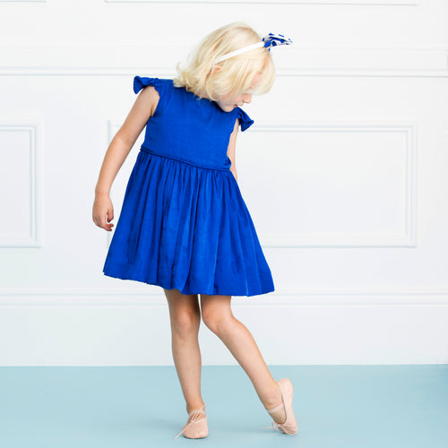 The Aria Dress in Blue