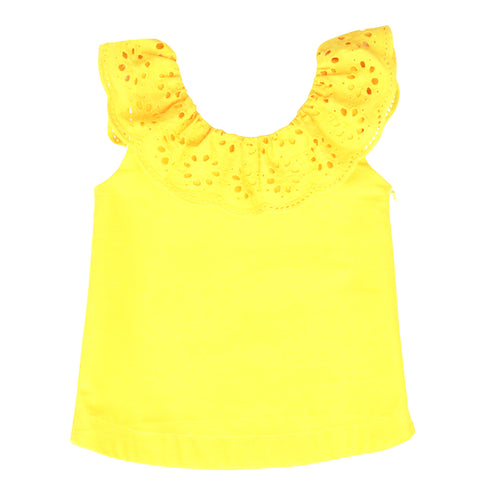 The Poppy Top in Buttercup