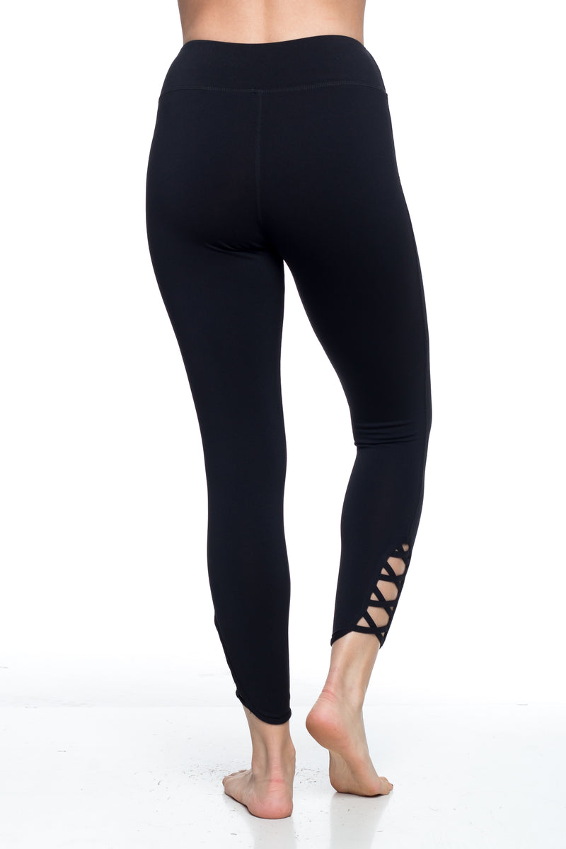 HEATHER LEGGINGS – BLACK
