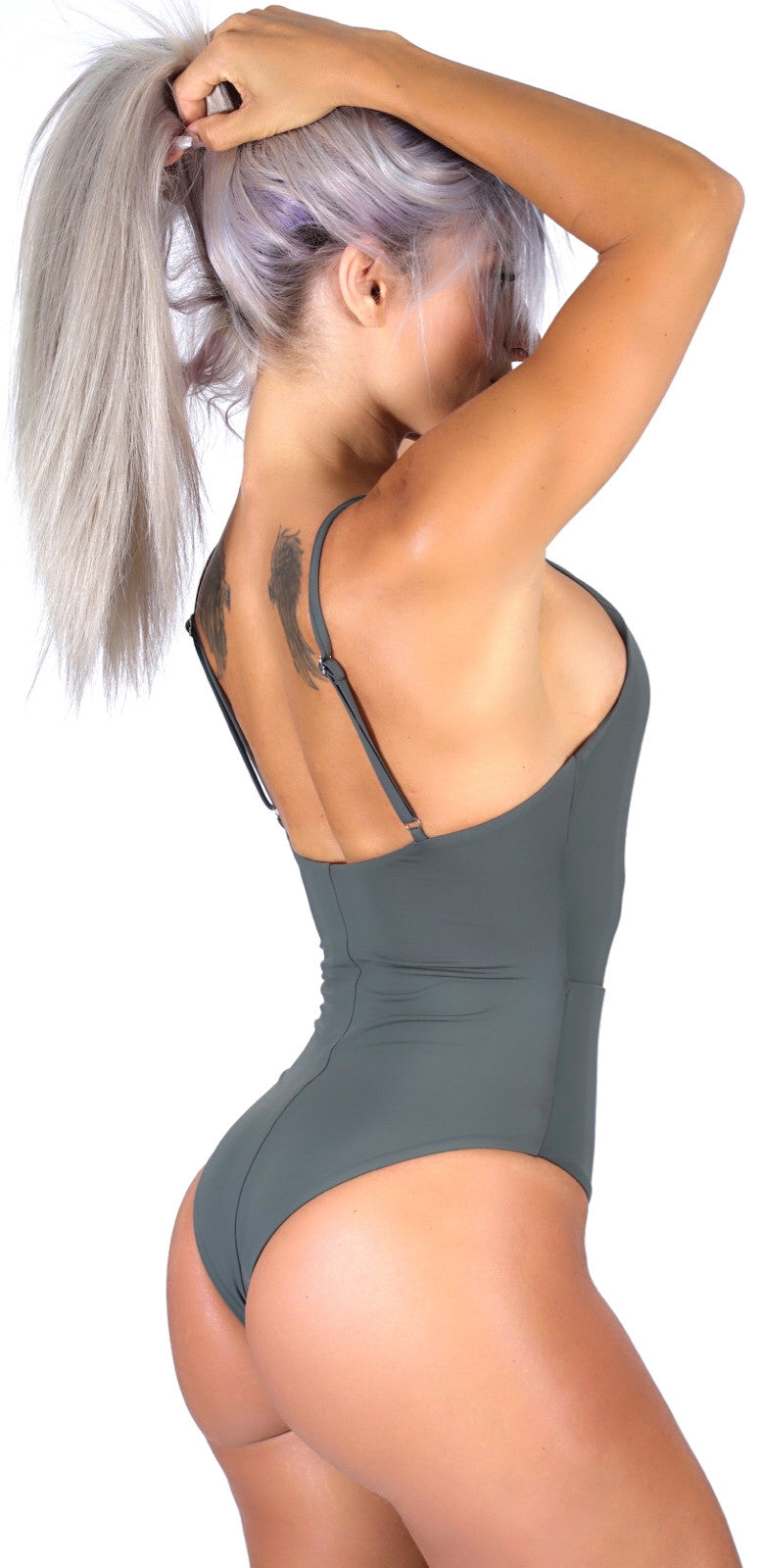 CHLOE ONE PIECE - DARK SILVER