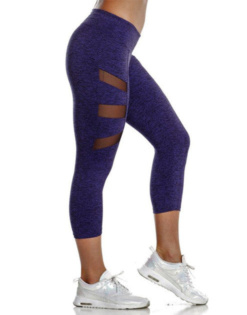 MUSCLE MESH CAPRIS – SPOTTED PURPLE