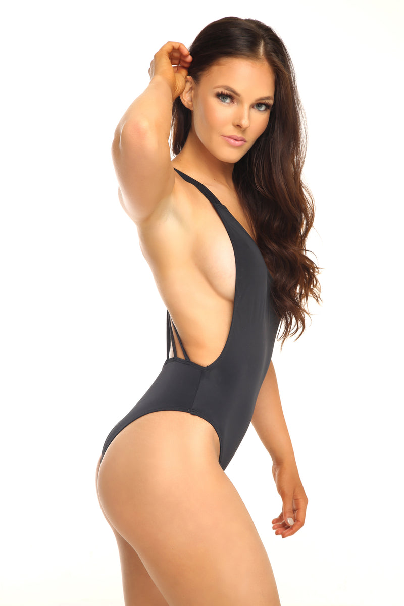 AUDREY ONE PIECE - BLACK
