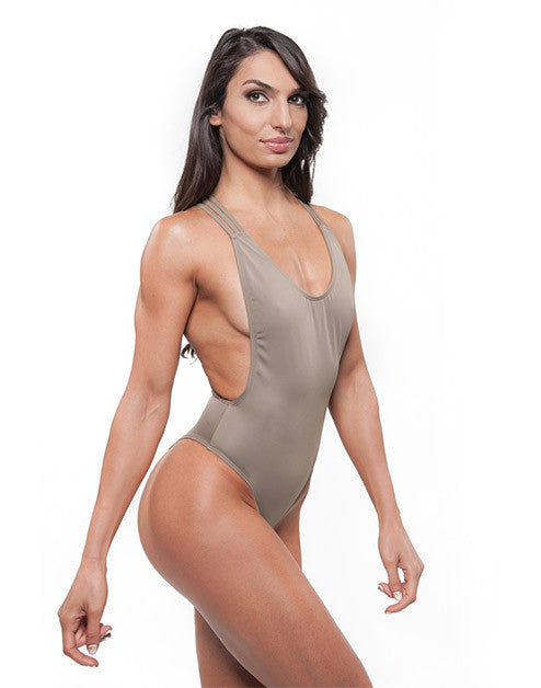 AUDREY ONE PIECE - TAUPE