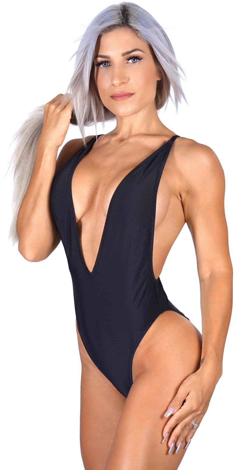 BETSY ONE PIECE - BLACK