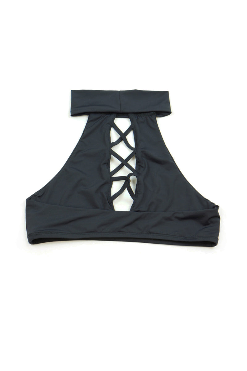JADE TOP - BLACK