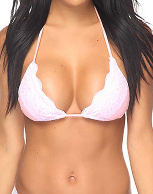 LEIA TOP - LIGHT PINK