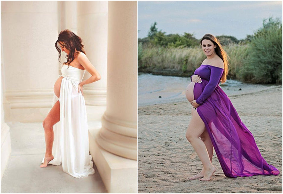 Recommend some stunning maternity photography dresses!