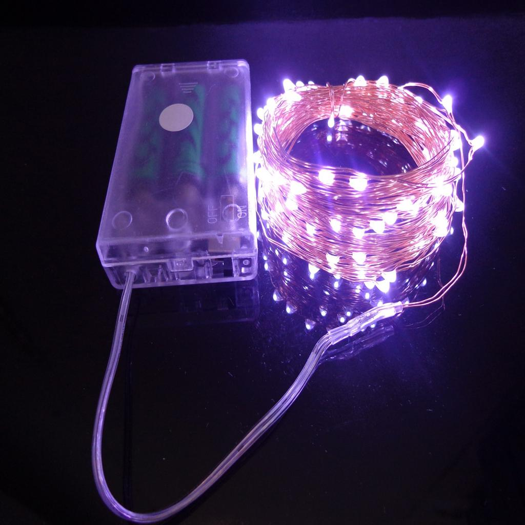 Waterproof 2M-10M Copper Wire Battery Led Fairy String Light Wedding Party Decor | Edlpe
