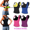 Image of Vest Waist Trainer Body Shaper Slimming Sweating Sauna Tank Top Womens Neoprene Latex Shapewear | Edlpe