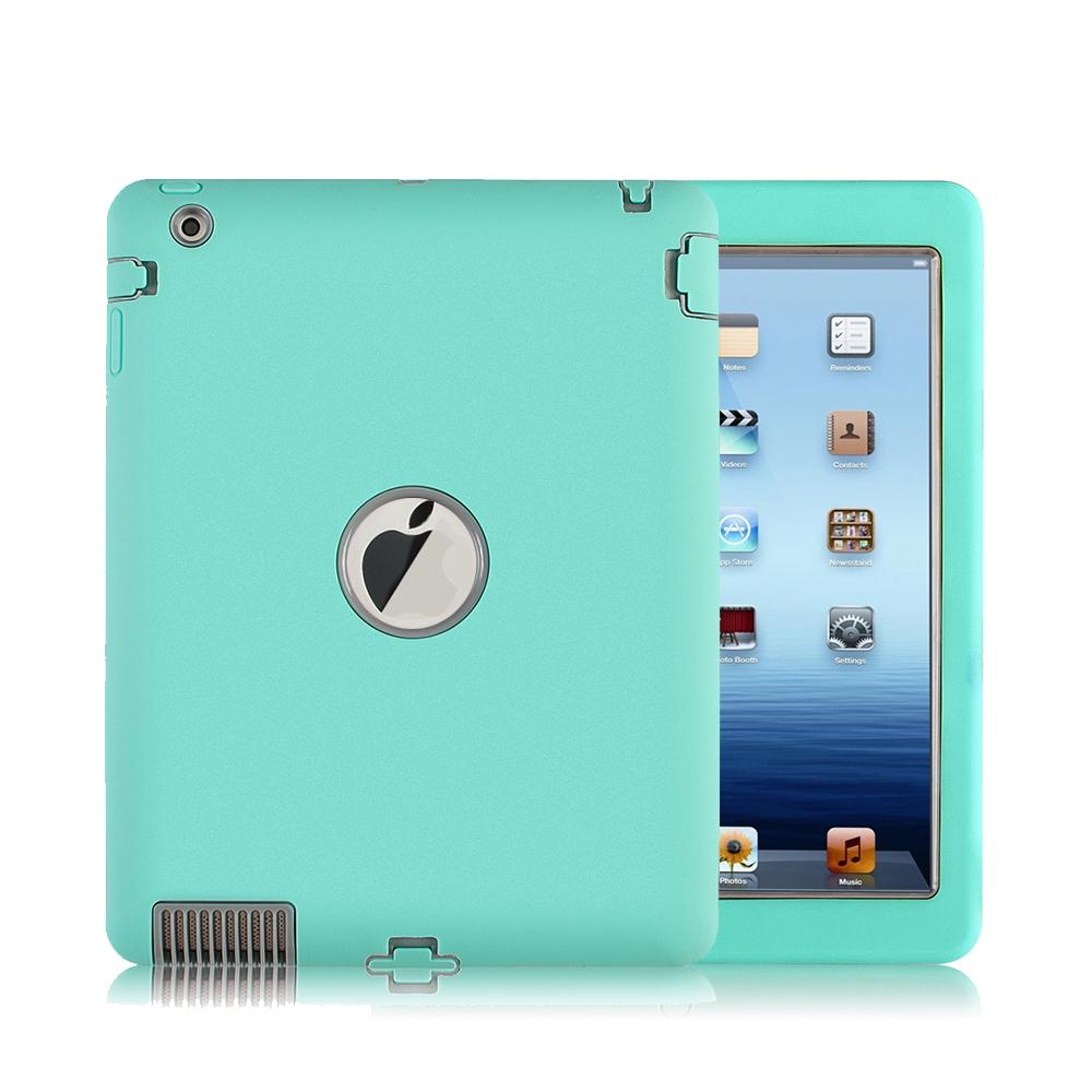 Heavy Duty Rugged Shockproof Armor Defender Protective Case Cover For Ipad 2/3/4 | Edlpe