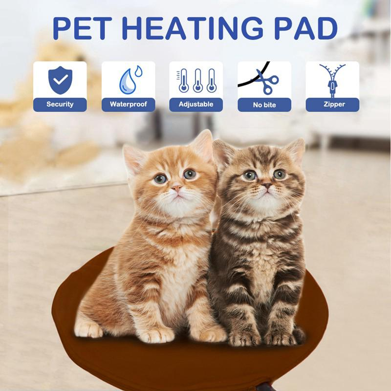 Electric Heating Mat Heater Warmer Winter Warm Pad Bed Blanket For Pet Dog Cat | Edlpe