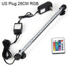 Image of Rgb Remote Led Aquarium Fish Tank Bar Light Waterproof Submersible Lamp 5050 Smd | Edlpe