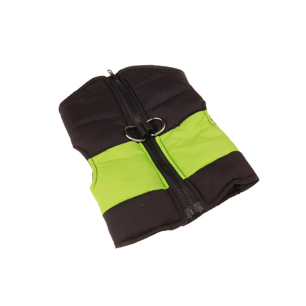 Pet Dog Puppy Padded Vest Waterproof Warm Coat Clothes Jacket Apparel Costume | Edlpe