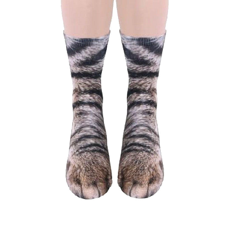 Women Mens Animal Series Socks Cute Dogs Cats Horse Tiger Print Funny Ankle Cotton Sock | Edlpe