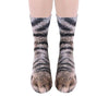 Image of Women Mens Animal Series Socks Cute Dogs Cats Horse Tiger Print Funny Ankle Cotton Sock | Edlpe