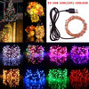 Image of 5V Usb 33 Ft 10M 100 Leds String Lights Copper Wire Lamp Wedding Party Decor | Edlpe