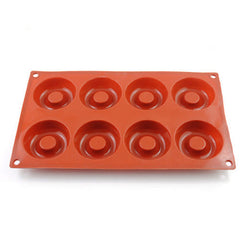 Dessert Chocolate Mini Silicone Donut Mould Doughnut Molds Baking Pan Round Shaped