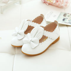 Girls Rabbit Sandals Princess Bowknot Toddler Kids Flower Soft Sole Shoes