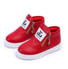 Image of Kids Girls Boys Ankle Boots Shoes Toddler Trainers Side Zipper Fashion Shoes | Edlpe