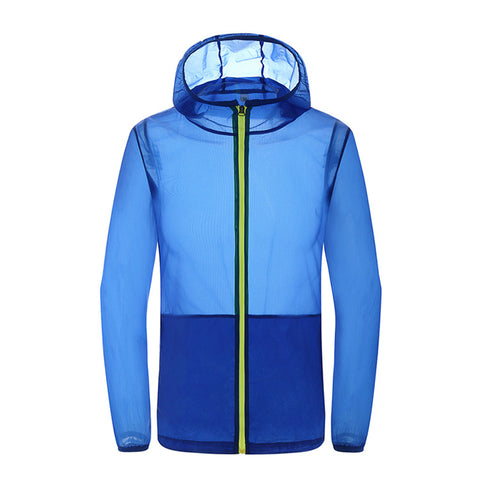 Outdoor Men Women Summer Thin Waterproof Outwear Coat Sport Hiking Climb Beach Outwear Jacket | Edlpe