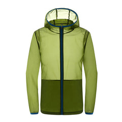 Outdoor Men Women Summer Thin Waterproof Outwear Coat Sport Hiking Climb Beach Outwear Jacket