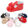 Image of Baby Girls Kid Toddler T Bar Bowknot Flats Summer Birthday Party Pram Crib Shoes | Edlpe