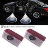 Image of 2Pcs Car Door Led Laser Logo Projector Light For Benz Ghost Shadow Welcome Courtesy Step Lights | Edlpe