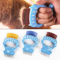 Pet Hair Flea Removal Comb Dog Cat Hair Grooming Rake Brush Comb Trimmer Brush Cleaning Tool | Edlpe