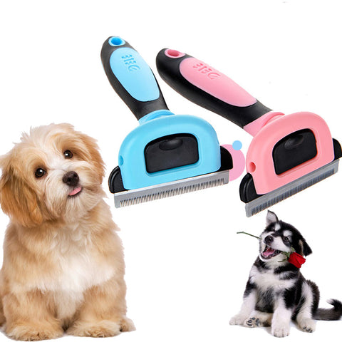 S M L Blades Grooming Professional Pet Dog Cat Fur Hair Deshedding Tool Brush Trimmer Comb Rake | Edlpe