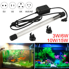 Image of UV Light Sterilizer Ultraviolet Lamp 3W 6W 10W 15W for Aquarium Disinfect Fish Tank Disinfect Light