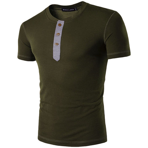 Summer Men Short Sleeve Casual T-Shirt Crew Neck Tee Slim Fit Muscle Blouse Tops Size Xl-3Xl | Edlpe