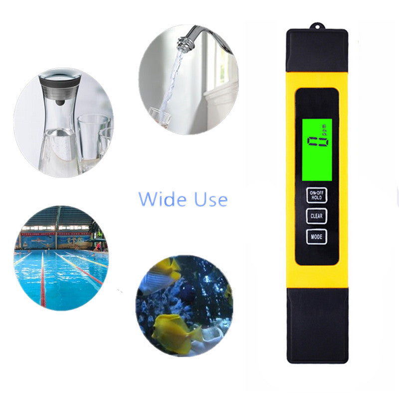 Digital Tds Lcd Ph Meter Water Purity Ppm Filter Hydroponic Pool Tester | Edlpe