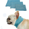 Image of Summer Pet Puppy Dog Cool Triangle Bibs Neck Scarfs For Polyester Fiber Pet Supplies | Edlpe
