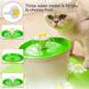 Image of Automatic Cat Water Fountain Electric Water Fountain Dog Cat Pet Drinker Bowl Pet Drinking Fountain | Edlpe