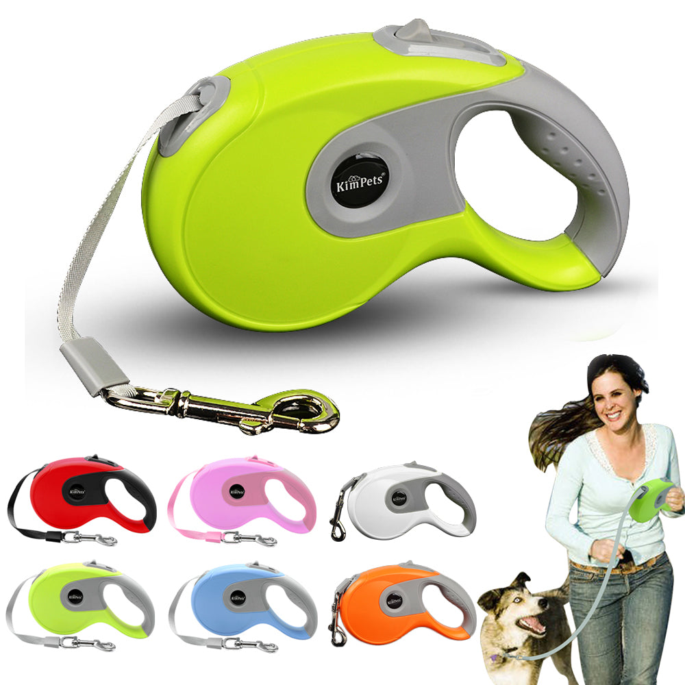 3M/5M Retractable Dog Leash Automatic Flexible Dog Puppy Cat Traction Rope Belt Leash For Pet | Edlpe