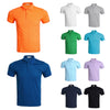 Image of 10 Colors Mens Short Sleeve Plain Polo Shirt Slim Fit T-Shirt Business Casual T-Shirt Tops | Edlpe
