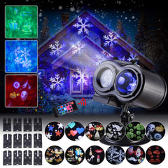 12 Slides 10 Colors Landscape Spotlight Waterproof Outdoor Indoor Party Lights Led Projector Lights | Edlpe