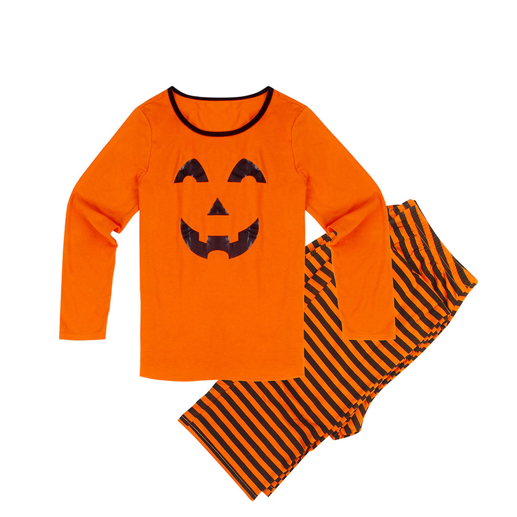 Family Matching Adult&children Halloween Smile Print Nightwear Pyjamas | Edlpe