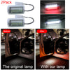 Image of 2Pcs 22Leds White+Red Car Door Light Welcome Lights Projector Lights Ground Lamp For Lexus Toyot | Edlpe