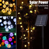 Image of 5M 20Leds Solar Power Bubble Crystal Ball Waterproof Led String Light Fairy Light Home Outdoor Decor | Edlpe