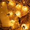 Image of 8 Modes 5M 100Leds 10 Bulbs Solar Powered Waterproof Led String Light Fairy Light Christmas Party | Edlpe