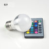 Image of 16 Colors Led Rgb Bulb Lamp E14 E27 B22 Gu10 Mr16 Ac85-265V 3W Rgb Led Spot Blubs Light Magic | Edlpe