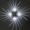 Image of 3W Ac85-265V Modern Led Wall Light Aluminum Lamp Bedroom Corridor Porch Ktv Bar Home Decor | Edlpe