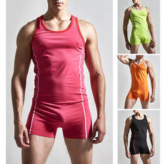 Men Casual Romper One Piece Shorts Jumpsuit Playsuits Fashion Sleeveless Tops Pants | Edlpe
