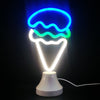 Image of Led Neon Sign Desk Lamp Wall Lamp Double Use Night Light Room Shop Wedding Christmas Decor | Edlpe