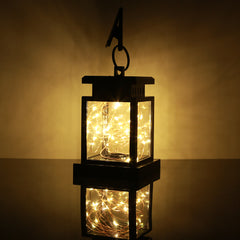 30LEDs Solar Powered LED Outdoor Lantern Hang Lamp Garden Home  Decoration Light