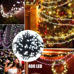 400 Leds 8 Modes Led Firecrackers String Fairy Light Outdoor & Indoor Home Christmas Party Decor | Edlpe