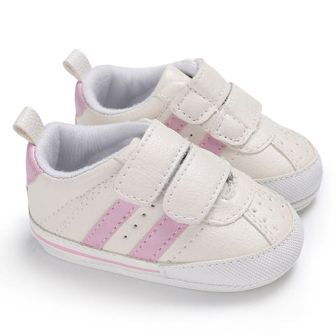 Newborn Baby Boy Girl Pre-Walker Sneakers Soft Sole Pram Shoes Trainers 0-18M | Edlpe